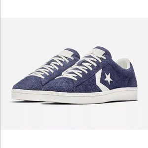 032f53b2aab Converse Shoes - Converse Pro Leather Ox Blue Vintage Suede Low Top